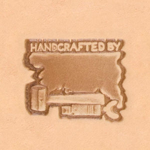 Western Cowboy Stamp - Handcrafted By
