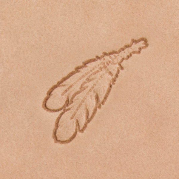 Two Feathers Mini 2D Stamp