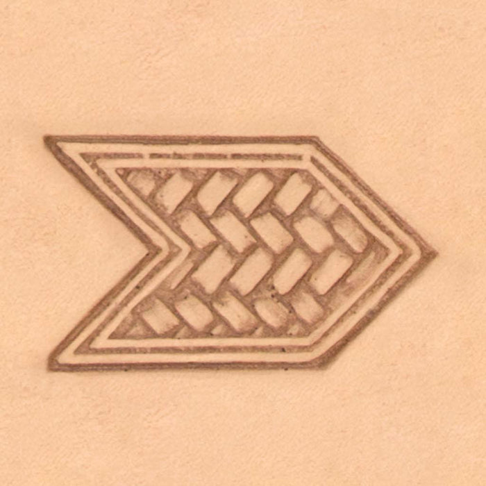 Celtic & Weaves Stamp - Woven Chevron