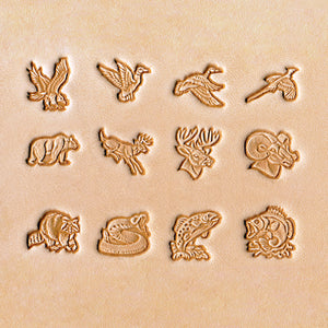 "13mm (1/2"") Animal Stamp Set, No.1"