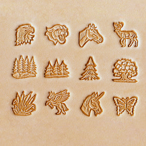 "13mm (1/2"") Animal Stamp Set, No.2"