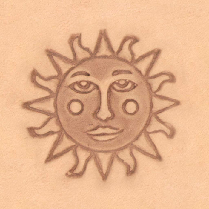 Mystical Theme Stamp - Sun Face