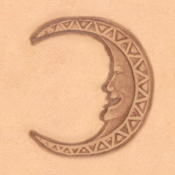 Mystical Theme Stamp - Moon Face