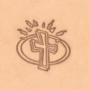 Peace & Flag Stamp - Cross