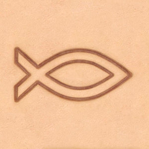 Peace & Flag Stamp - Fish