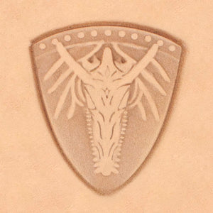 Mystical Theme Stamp - Dragon Shield