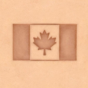 Peace & Flag Stamp - Canadian Flag