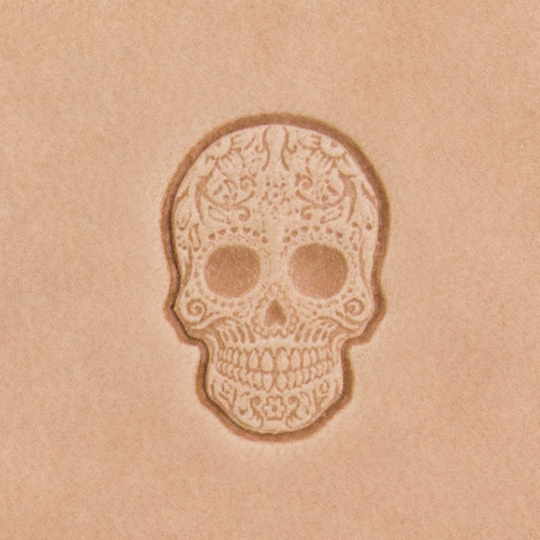 Sugar Skull Mini 3D Stamp