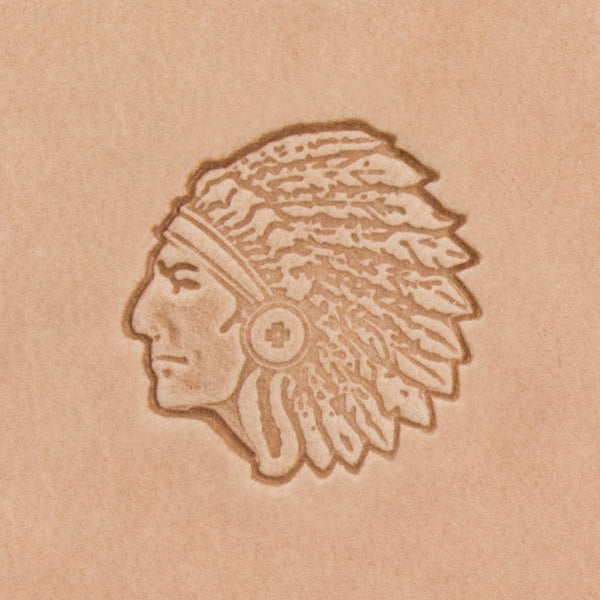 Chief Mini 3D Stamp
