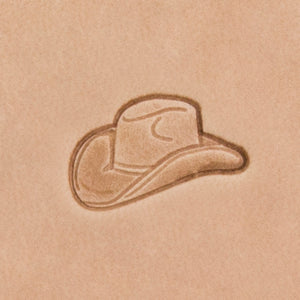 Cowboy Hat Mini 3D Stamp