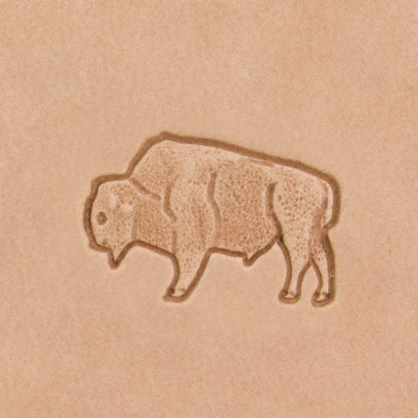 Bison Mini 3D Stamp