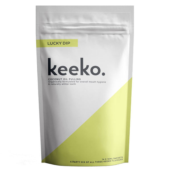 Keeko Lucky Dip Oil Pulling (3 Flavours)
