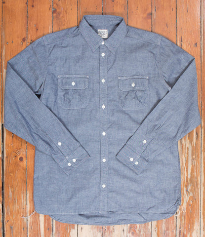 Badger Shirt - Indigo Chambray