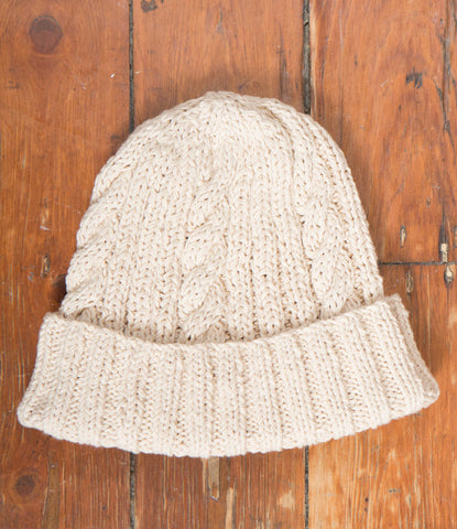 Brendan Beanie - Natural Cotton