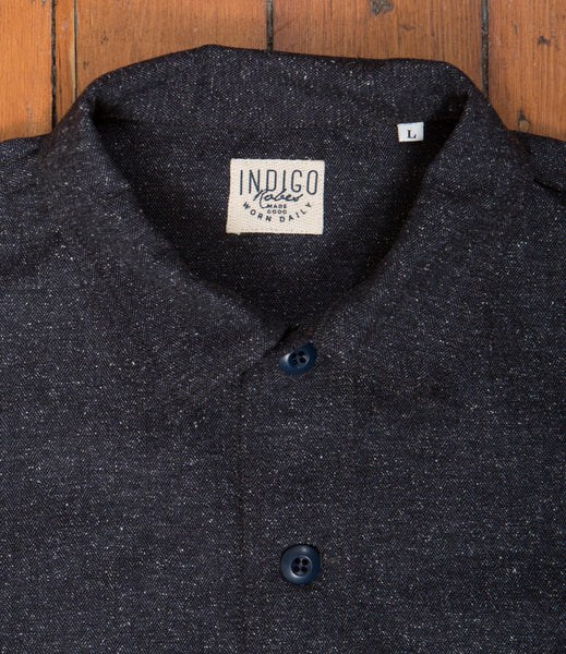 Workers Jacket Boucle Herringbone - Indigo