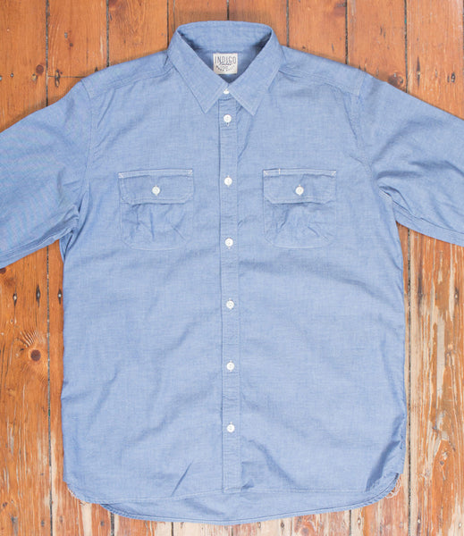 Badger Shirt - Sax Chambray