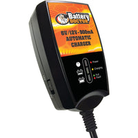 Battery Doctor Battery Doc 6-volt And 12-volt 900ma Wall Mount Cec Charger And Maintainer