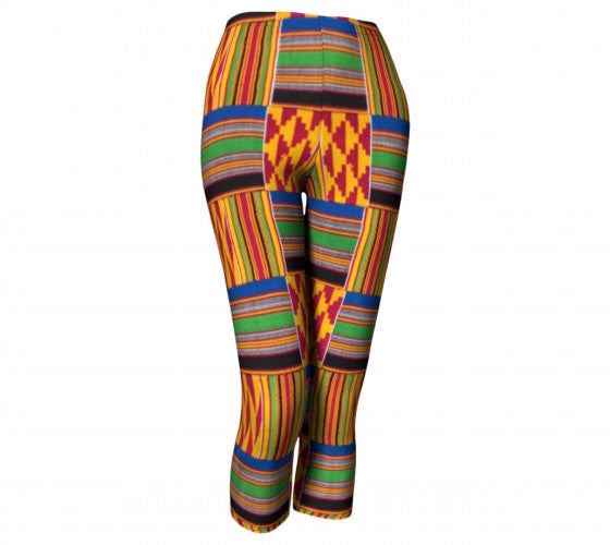 African pattern leggings