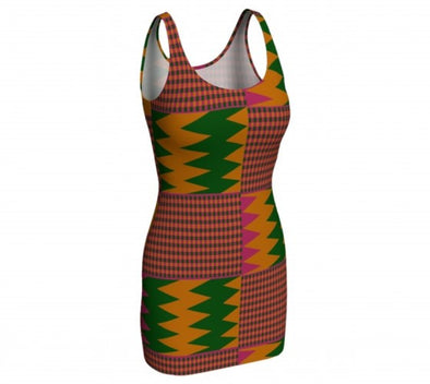 colorful kente fashion