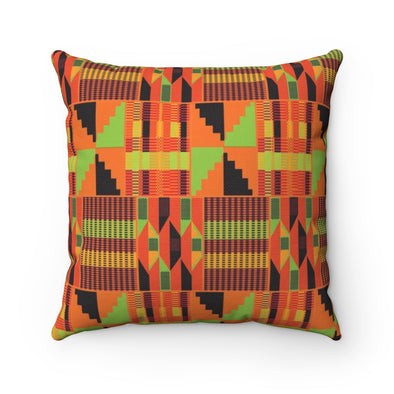 African pattern pillow