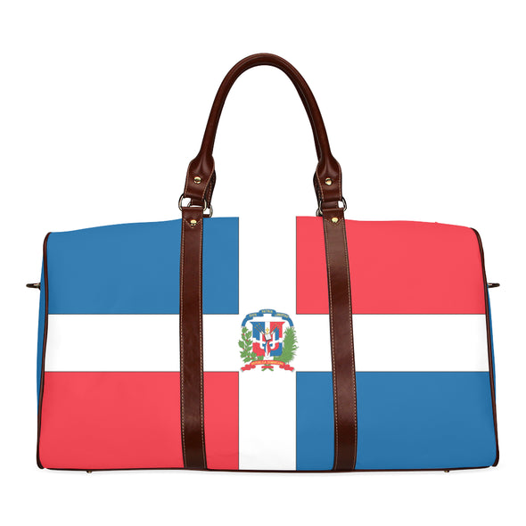 Flag Travel Bag Dominican Republic