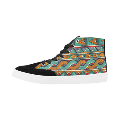 ankara high top shoes