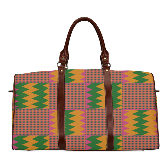 kente cloth travel bag