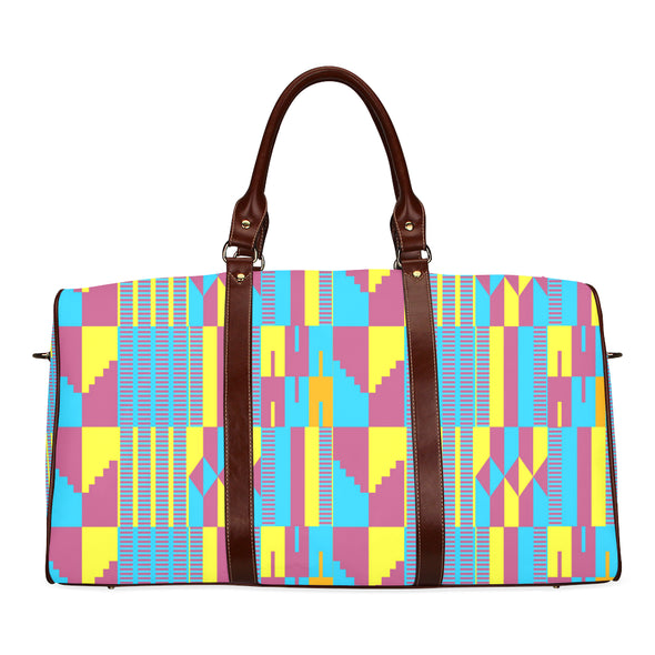 kente weekend bag