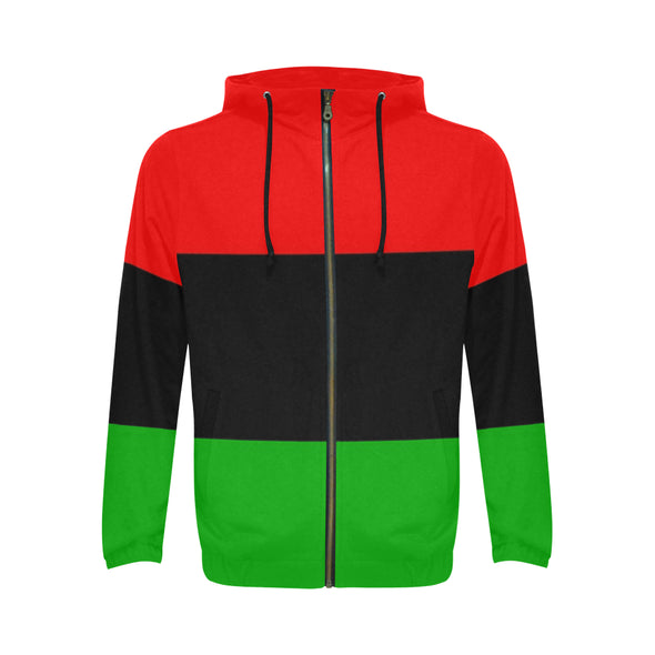 pan african colored hoodie