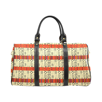 kente print weekend bag