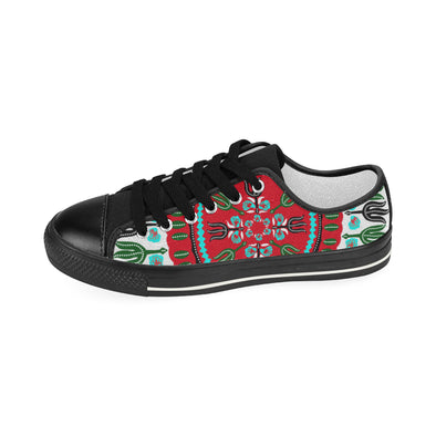 shoes with dashiki pattern