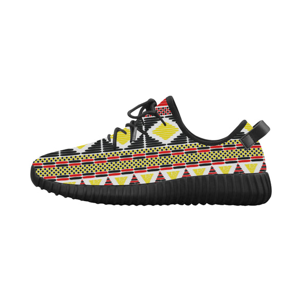 tribal print tennis shoes