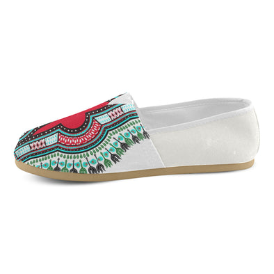 canvas dashiki shoes
