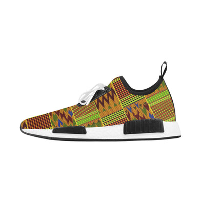 Men kente sneakers