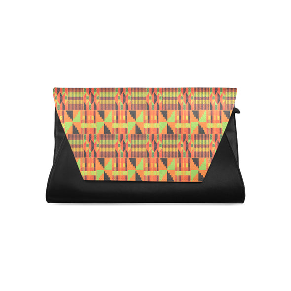 kente purse clutch