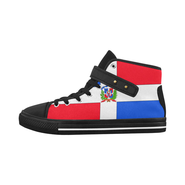 Dominican flag sneakers