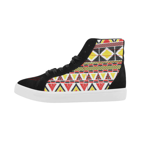 colorful african shoes