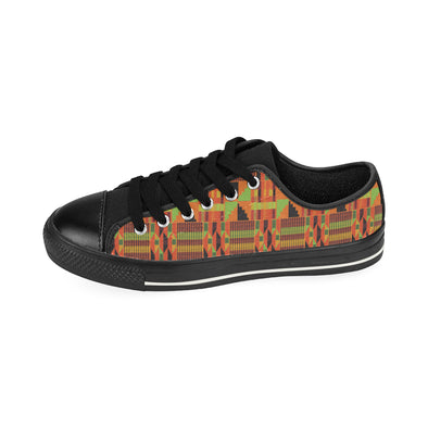 kente low top sneakers
