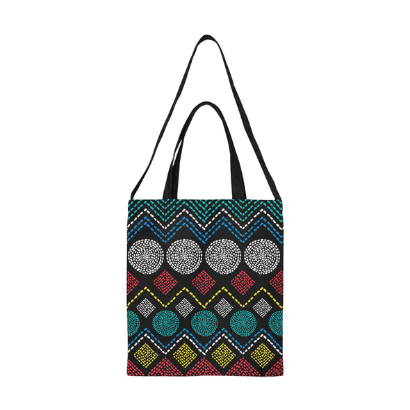 KING SHAKA I BLK Tote Bag Medium