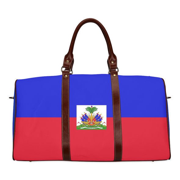 Flag Travel Bag Haiti