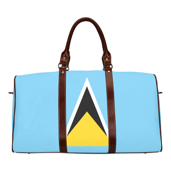 Flag Travel Bag Saint Lucia