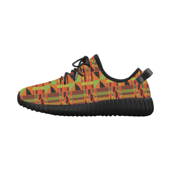Ankara blvd kente shoes