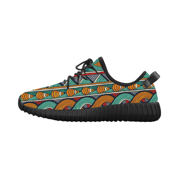 tribal ankara pattern shoes
