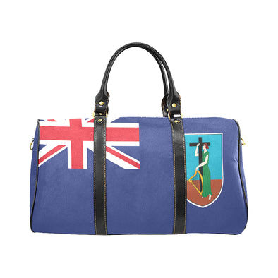 Flag Travel Bag Montserrat