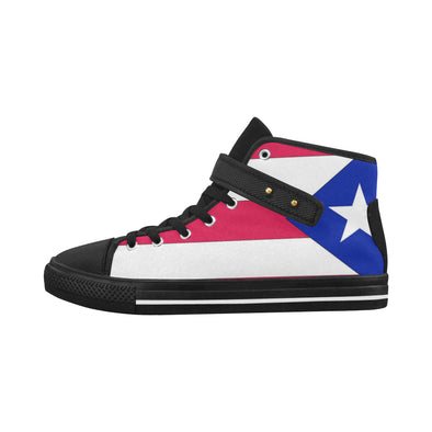 Puerto Rican flag shoes