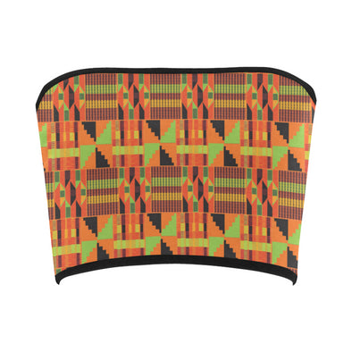 kente belly top