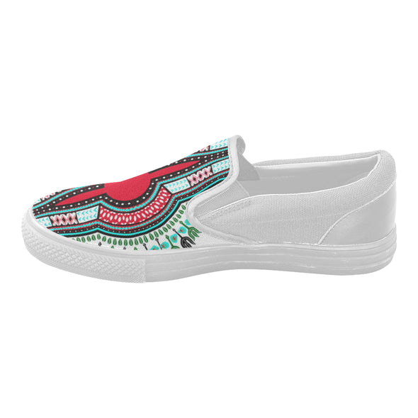 dashiki slipon shoes