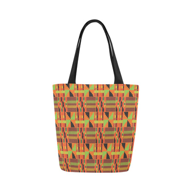 kente canvas tote