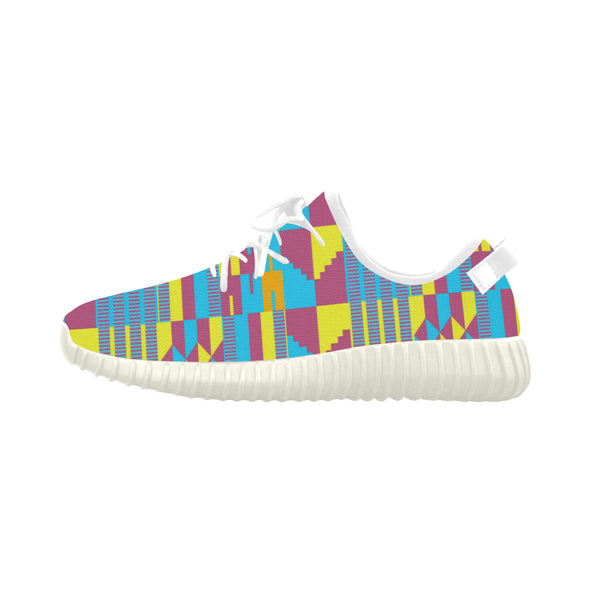 colorful kente shoes