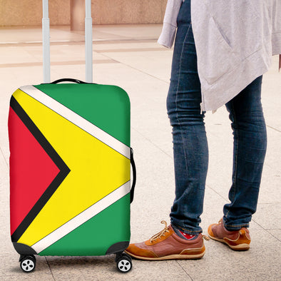 Guyanese Flag Luggage Cover